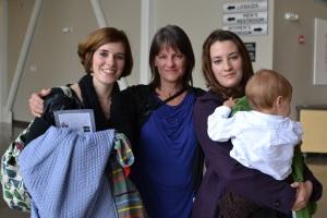 Klara, Aunt Gail, Kaylan and J.