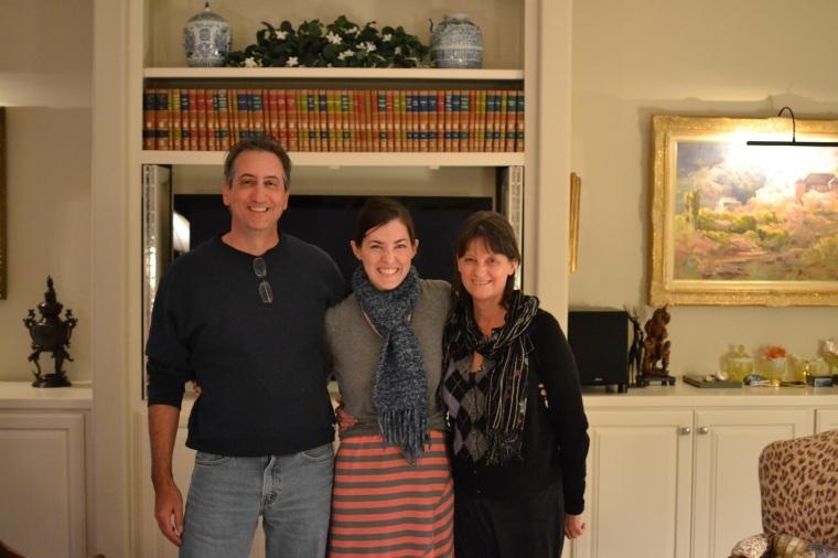 Uncle Kevin, me, Aunt Gail
