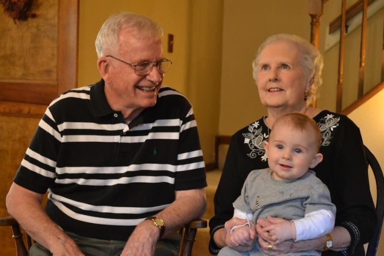 Grandma Judy and Grandpa Shannon