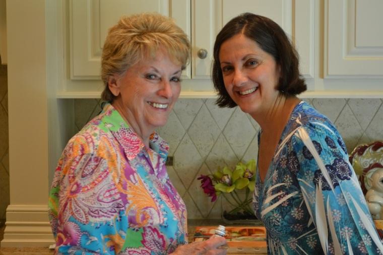 My Maternal Grandma with my Mom