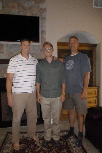 Danny is in the middle and is 6'4...that makes his uncles how tall?