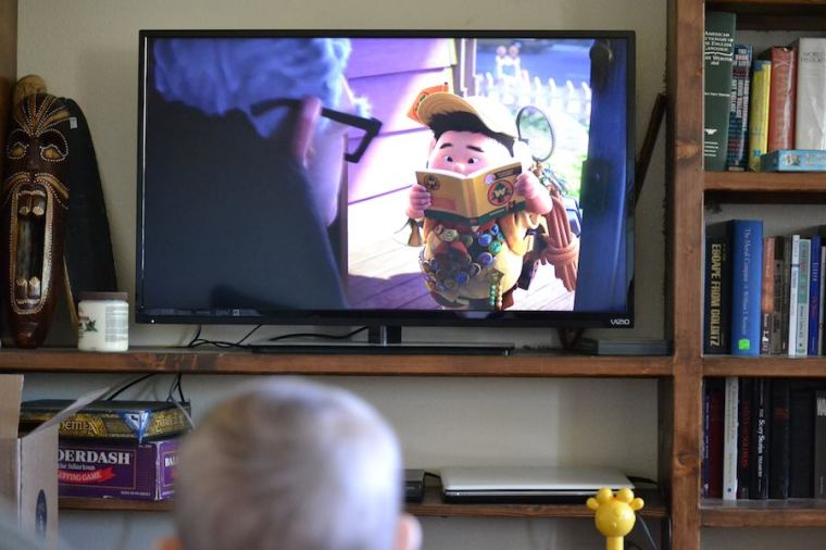 my son will watch Disney's film UP, over and over again...good thing it is a good movie.