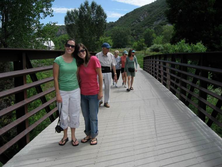 Family reunion in Durango, CO. We are due for another one of these soon.