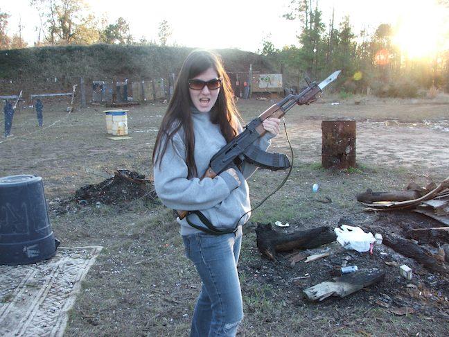 Gun Range, pretty classy huh?
