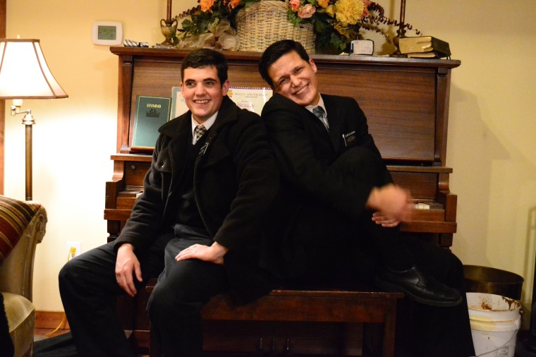 Disappointed in serving in the Tulsa Oklahoma Mission? Not these guys...