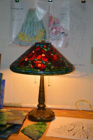 Here is our lamp!