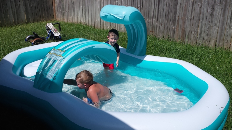 We have to drag them out of that pool!